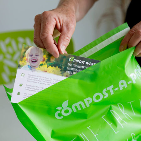 Compostable Postal Satchels